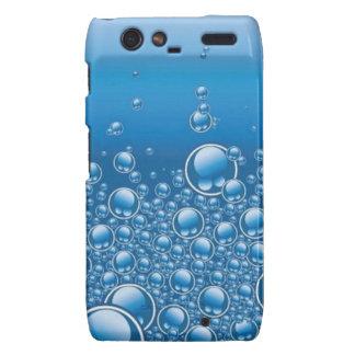 Water bubbles motorola droid RAZR covers