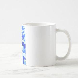 Water Camo Basic White Mug