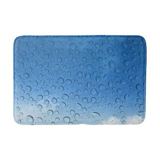 Water Droplets Bathroom Mat Bath Mats