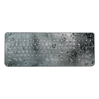 Water Drops Custom Wireless Keyboard