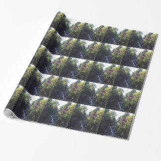 Water fall Viktoria park Wrapping Paper