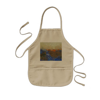 Water for melting ice kids apron