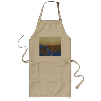 Water for melting ice long apron