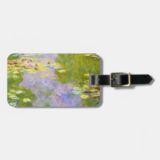 Water Lilies, 1919  Claude Monet Luggage Tag