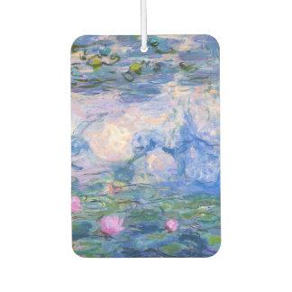 Water Lilies Car Air Freshener