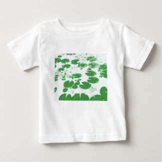 Water lily leaves white baby T-Shirt