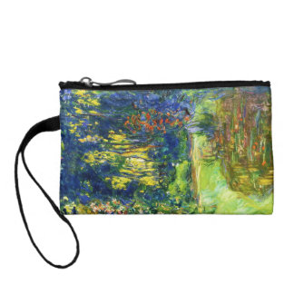 Water Lily Pond Claude Monet cool, old, master, ma Coin Purse