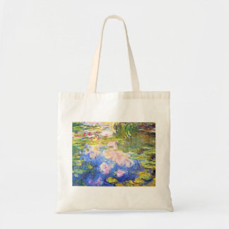 Water Lily Pond Claude Monet Tote Bag