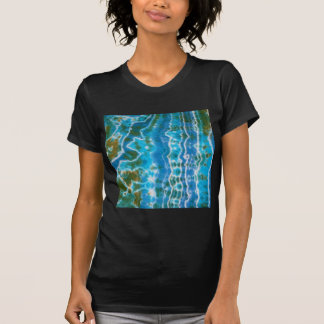 Water Lines Tie Dye Tee Shirts
