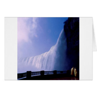 Water Niagara Falls Canada Card