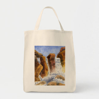 Water Paintings Tote Bag