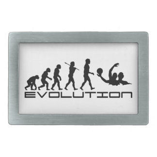 Water Polo Sport Evolution Art Belt Buckles