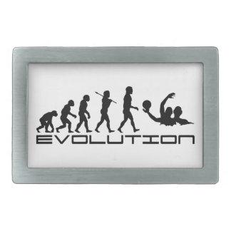 Water Polo Sport Evolution Art Rectangular Belt Buckle