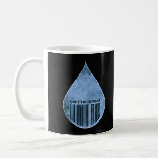 Water: Property of the People I Basic White Mug