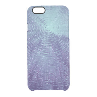 Water Ripples Clear iPhone 6/6S Case