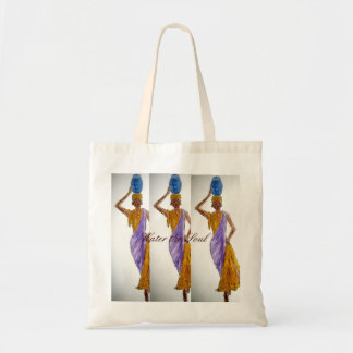 Water The Soul Lady's Tote Bag