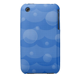 Water Waves and Bubbles iPhone 3/3gs Case iPhone 3 Cover