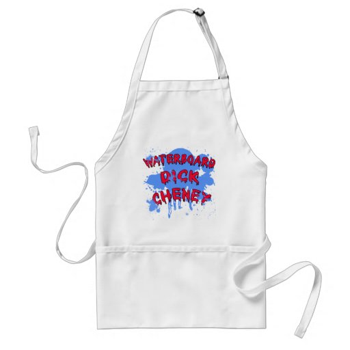 Waterboard Dick Cheney Products Aprons
