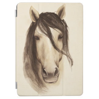 Watercolor Barn Animals | Horse iPad Air Cover
