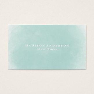 Watercolor | Business Cards
