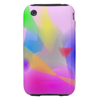 Watercolor Tough iPhone 3 Cover