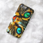 Watercolor Cat Eyes iPhone 6 Case Barely There iPhone 6 Case