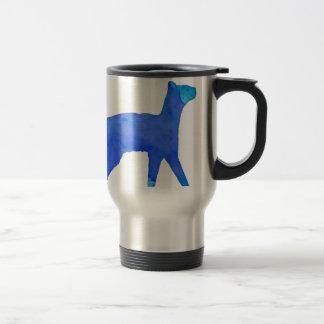 Watercolor Cat Stainless Steel Travel Mug