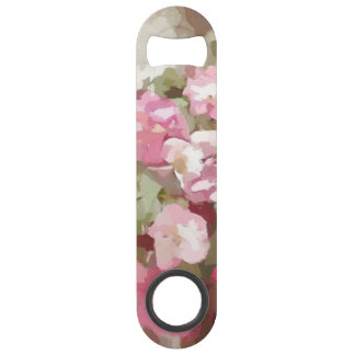 Watercolor Effect Pink Climbing Roses