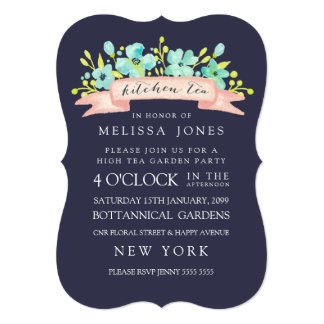 Browse Zazzle Kitchen Tea invitation templates and customise with your own text, photos or designs.
