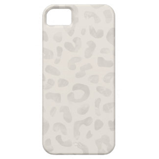 Watercolor Leopard Phone Case - Taupe