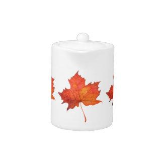 Watercolor Maple Leaf
