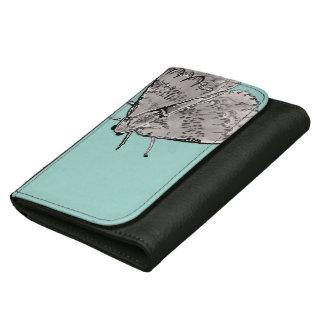 Watercolor Moth Women's Wallet