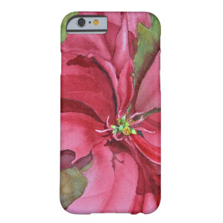 Watercolor Poinsettia iPhone 6 Case