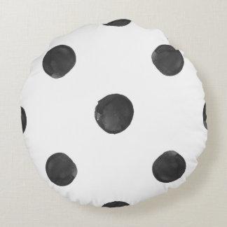 Watercolor Polka Dot Pillow