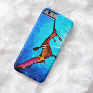 Watercolor Sea Dragon iPhone 6 Case Barely There iPhone 6 Case
