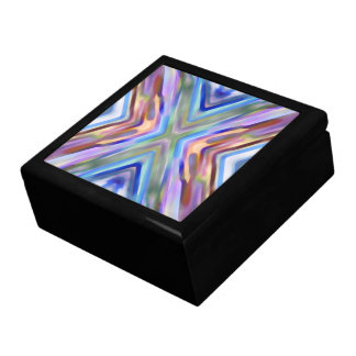 Watercolored - Brightly Colored Abstract Gift Box