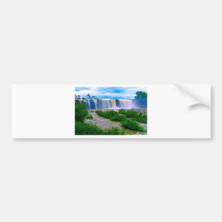 waterfall-16 bumper sticker