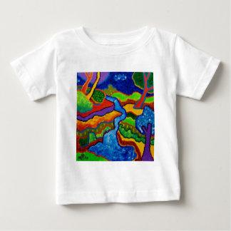 Waterfall Abstract T Shirts