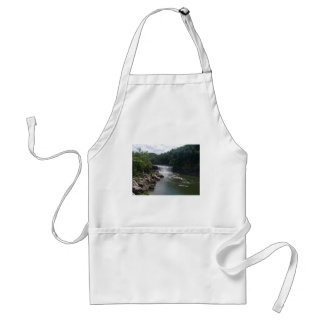 Waterfall and River Adult Apron