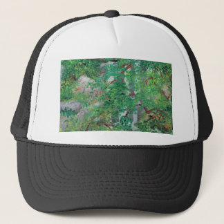 Waterfall and Trees Trucker Hat