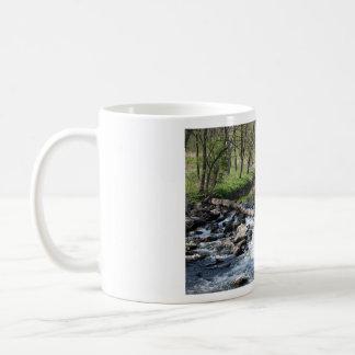 waterfall basic white mug