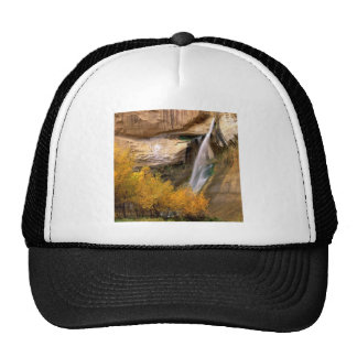Waterfall Calf Grand Escalante Monument Utah Trucker Hat
