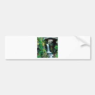 Waterfall Christine Mount Rainier Bumper Stickers