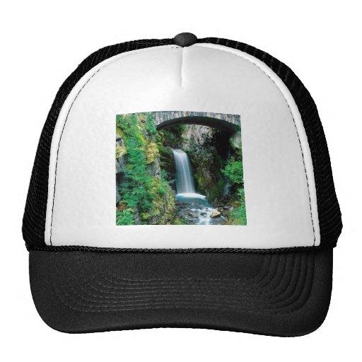 Waterfall Christine Mount Rainier Trucker Hats