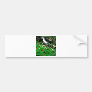 Waterfall Cool Mount Adams Bumper Sticker