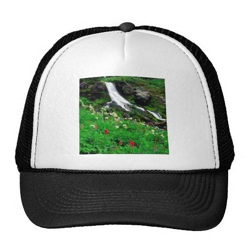 Waterfall Cool Mount Adams Trucker Hat