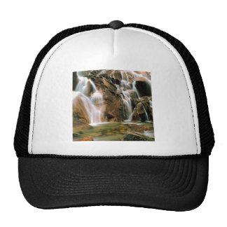 Waterfall Cool Water Sawtooth Wilderness Idaho Trucker Hat