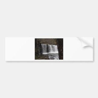 WaterFall country in wales, Brecon beacons Bumper Sticker