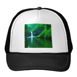 Waterfall Eagle Wilderness Area Columbia Hat