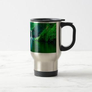 Waterfall Eagle Wilderness Area Columbia Coffee Mugs